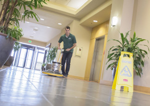 Floors and windows cleaning